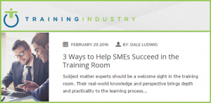 TrainingIndustrySMEs