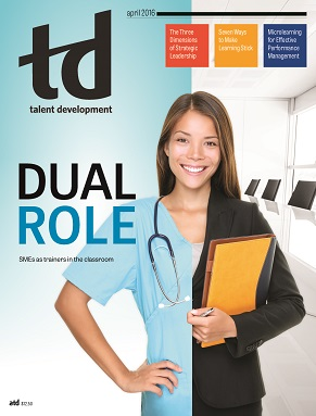 Association for Talent Development - TD Cover Article by Dale Ludwig and Greg Owen-Boger