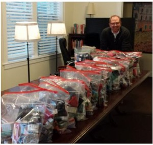 Greg Owen-Boger gathers packages donations for Turpin Cares