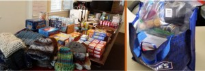 Turpin Cares collects donations for the homeless